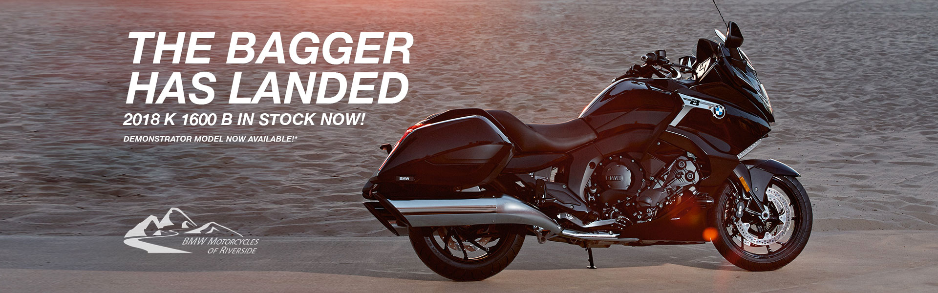The Bagger Has Landed. 2018 K 1600 B in stock now!