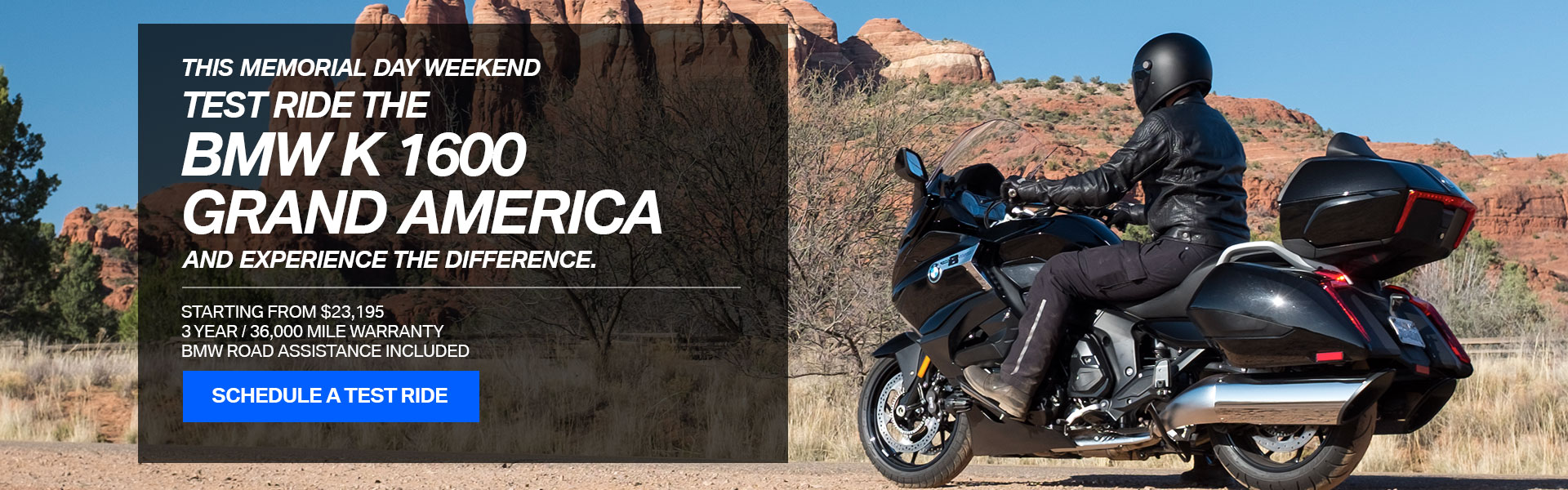 Test ride the BMW K 1600 Grand America
